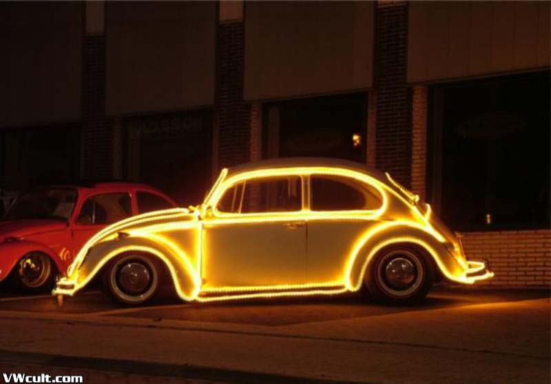 vw kafer light