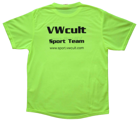 VWcult Sport Team running T-Shirt