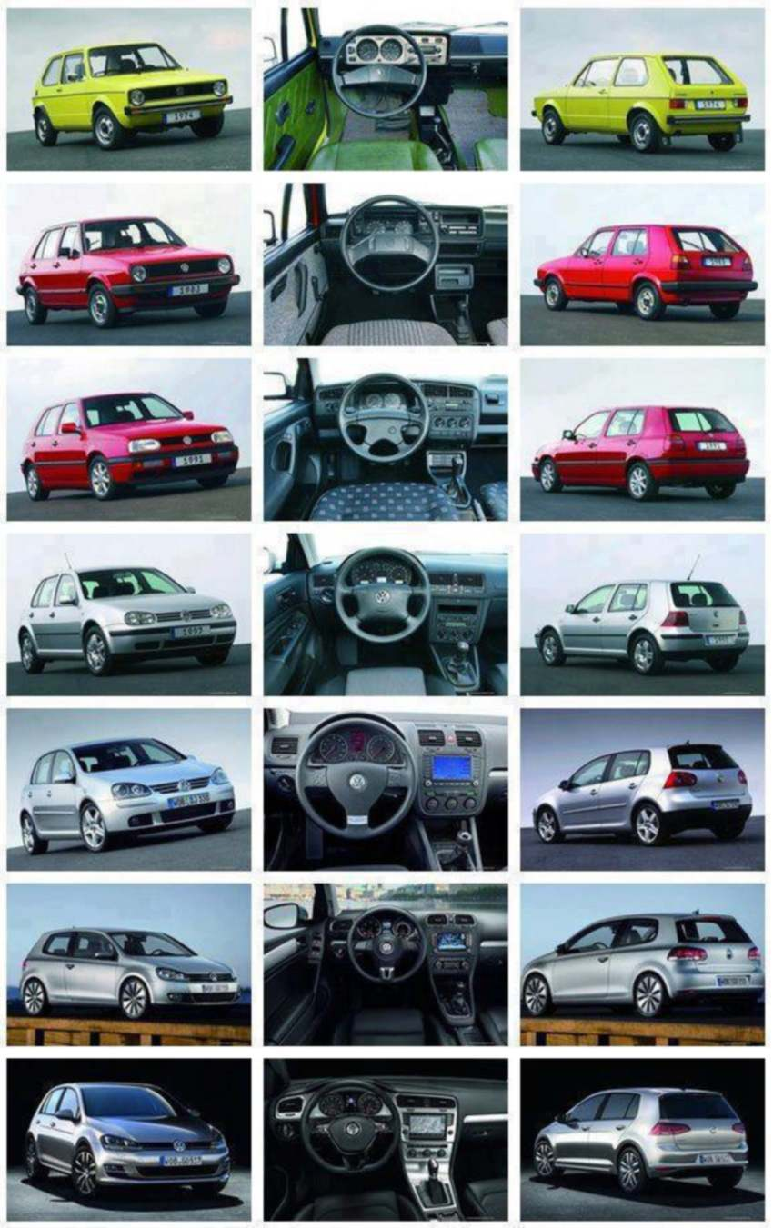 vw golf generation